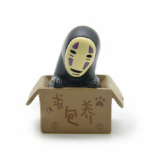 Studio Ghibli Spirited Away No Face Man Figure Cute Faceless Figurine Toy Decor