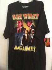 Pulp Fiction 2XL Black T Shirt Streetwear Samuel L Jackson John Travolta nwt