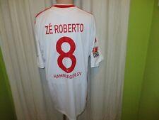 "Hamburger SV Maglia ADIDAS 2009/10 ""Fly Emirates"" + N. 8 Zé Roberto taglia XL TOP"