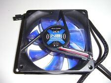 NB Noiseblocker X1 Kühler Lüfter 80x80 mm 12V Cooling PC FAN Computer