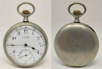 Orologio da tasca Zenith ferrovie Rete Adriatica rare watch railway clock vintag