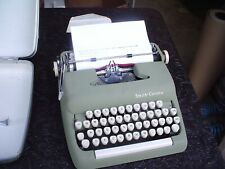 Smith Corona Sterling Manual Typewriter w Hard Case