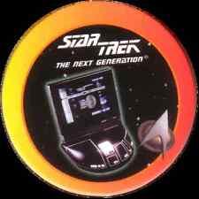 STAR TREK THE NEXT GENERATION, PERSONAL COMPUTER, STARTDISC POG MILK CAP, # 03