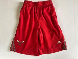 Adidas Climalite Chicago Bulls Athletic Gym Shorts Youth Boys Size L 10-12 EUC