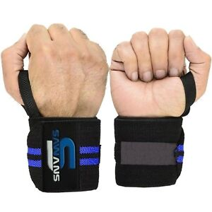 Weight Lifting Hand Support Wrist Wraps Bandage Brace Gym Straps Cotton