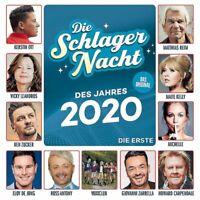 Various - Die Schlagernacht des Jahres 2020 - Die Erste CD NEU OVP