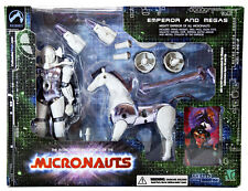 NEW Palisades 2003 Micronauts Emperor & Megas White Version MIB Facotory Sealed