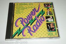 POWER RADIO VOL.8 / CD MIT BOSTON - ELO - JETHRO TULL - ALBERT HAMMOND - JOURNEY