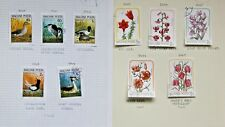 Hungary stamps -Thematic Flowers and Birds ref b192 Nice Stamps