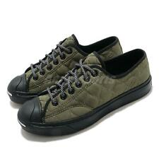 Converse Jack Purcell OX Workwear Quilting Green Black Men Women Unisex 169598C
