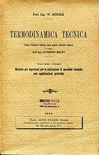 W. Schüle TERMODINAMICA TECNICA VOLUME PRIMO