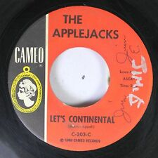 50'S &60'S 45 The Applejacks - Let'S Continental / Mexican Hat Twist On Cameo