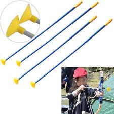 12 x Kids Play Sucker Arrows Junior Toy Set Archery Garden Kids Target Shooting