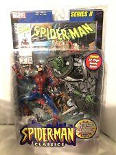 Marvel Battle Ravaged Spider-Man Classics Series II 2 Figure Comic Book ToyBiz