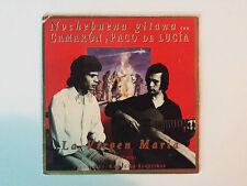 """CAMARON Y PACO DE LUCIA """"LA VIRGEN MARIA"""" RARE SPANISH PROMO CD SINGLE"""