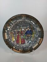 "Royal Doulton ""Queen Elizabeth At Old Moreton 1589"" Plate,  7.5""/19.5cm"