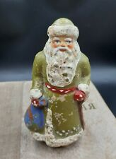Christmas Tree Ornament, Christmas Vintage decoration, santa claus popier mache