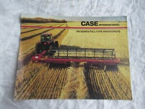 Case CASEIH International 700 pull-type windrowers brochure