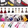 Women Fashion Bohemian Jewelry Elegant Crystal Tassel Earrings Long Drop Dangle