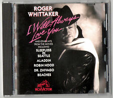 ROGER WHITTAKER I Will Always Love You CD Classic Movie Hits EVERGREEN BORN FREE