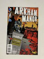 Batman Arkham Manor #1 DC 2014