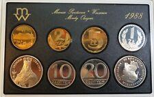 Original KMS SET Circulation Coins 1988 Poland Polen 1 zloty - 100 zlotych