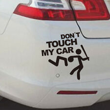 """Window Words """"Don't Touch My Car"""" Vinyl Decal Stickers Car SUV Black Rear Cheap"""
