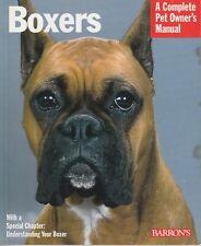 BOXER DOGS Barrons Series Johanna Thiel **GOOD COPY**