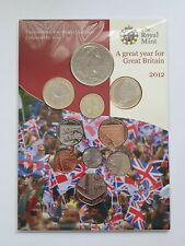 More details for royal mint - 2012 annual bu 10 coin set - inc queen's diamond jubilee £5 coin