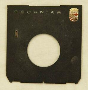 Genuine Linhof Technika 45 lens board #1 with Linhof Badge