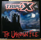 ♫ MAXIS 45T VINYL- TRIPLE X - THE UNKNOWN FILE ♫