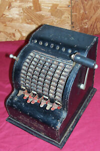 Antique American Can Adding Machine Model 5 Five Vintage Office General Store US