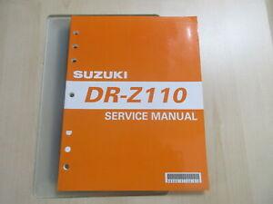 Suzuki DR-Z 110 Handbuch Wartungsanleitung Fahrerhandbuch Buch 99500-41130-01G