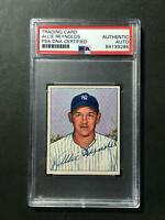 1950 Bowman #138 Allie Reynolds Signed Baseball Card PSA/DNA New York Yankees