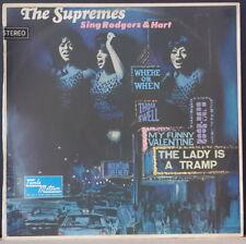 THE SUPREMES - SING RODGERS & HART 1967 TAMLA MOTOWN STMLO 11054 AUS VINYL