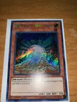 Yugioh The White Stone of Legend LCKC-EN010 Secret Rare 1st Edition Near Mint