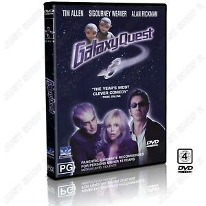 Galaxy Quest DVD : Comedy / Sci-Fi Movie : Tim Allen : Brand New