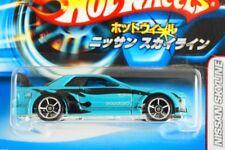 HOT WHEELS JAPANESE CARD #22 - NISSAN SKYLINE - TEAL