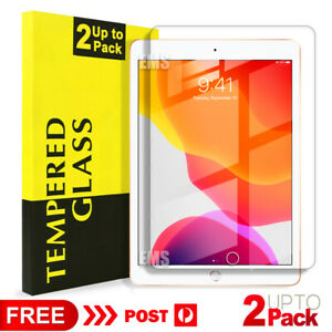 """For Apple iPad 9th 7th 8th Gen 10.2"""" 6th 5th Gen Tempered Glass Screen Protector"""