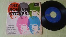 "The Rolling Stones EP 7"" SINGLE Satisfaction Decca Spain"