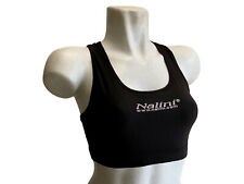 new Nalini Pro women's cycling running top made in Italy black w sports bra