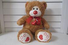 Hugfun Int'l Valentine's Day plush Bear with Hearts