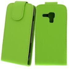 Für Samsung Galaxy S Duos / S7562 GRÜN - Kunstleder Tasche, Handytasche, Case,Hü