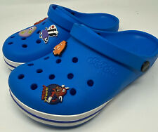 Jibbitz by Crocs Men 4 Women 6 Blue Shoes Sandals Kilby Clog Ocean Relaxed Fit