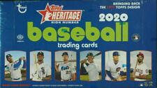 Topps Heritage 2020 High Number Baseball Hobby Box