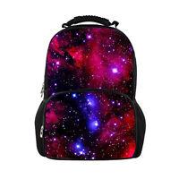 Cool Galaxy Backpack Teen Boys Girls Children Shoulder School Book Bag Schoolbag