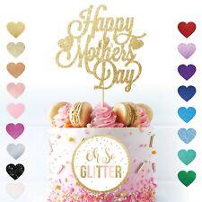 Happy Mothers Day cake topper Mum Glitter mother mum nan grandma sister custom