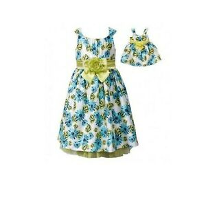 """New Dollie Me Girl Floral Dress Set SZ 6 Fits American Girl & Other 18"""" Dolls"""