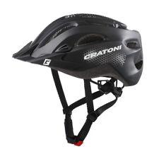 CRATONI Fahrradhelm C-Stream (City) Gr. XXL (59-65cm) schwarz matt (1 Stück)