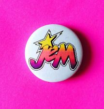 Jem And The Hollograms Vintage Style button pin badge